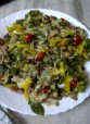 Fragrant Summer Salad of Sprouted Mixed Beans